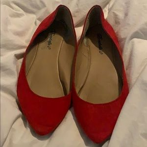 Red Breckelle's flats size 7.5